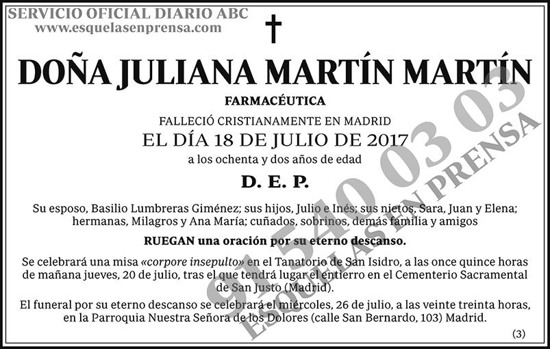 Juliana Martín Martín